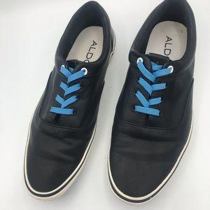 Aldo Black Faux Leather size 7.5